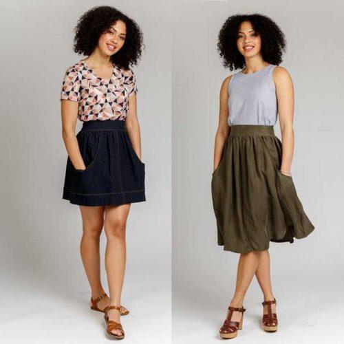 Brumby Skirt Sewing Pattern - Megan Nielsen