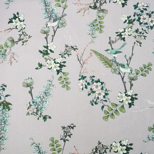 Lady McElroy Cotton Lawn Dress Fabric - Spring Serenade