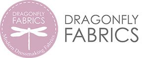 Dragonfly Fabrics, Dress Fabric for Designers UK Logo