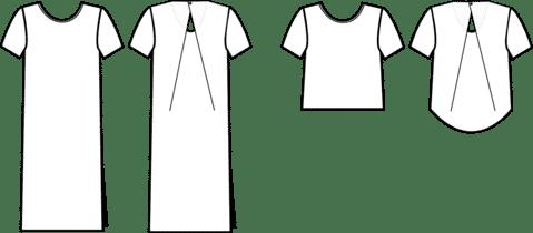 kobe dress top