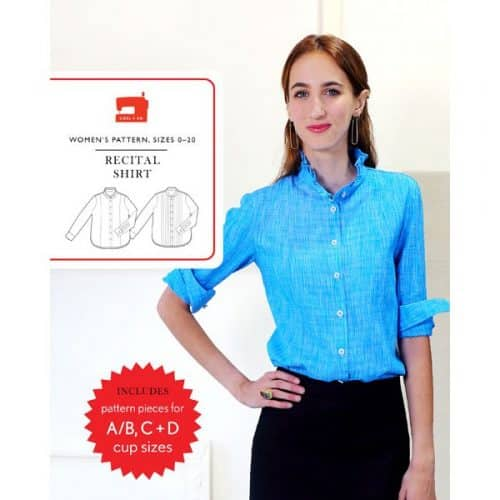 Liesl and Co Recital Shirt Sewing Pattern