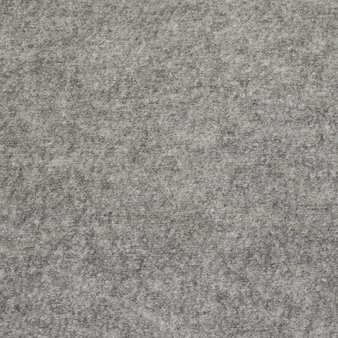 Boiled Wool Fabric - Light Grey Melange