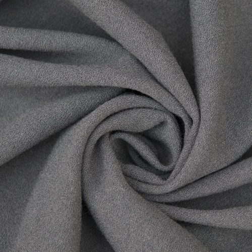 light grey rio crepe fabric