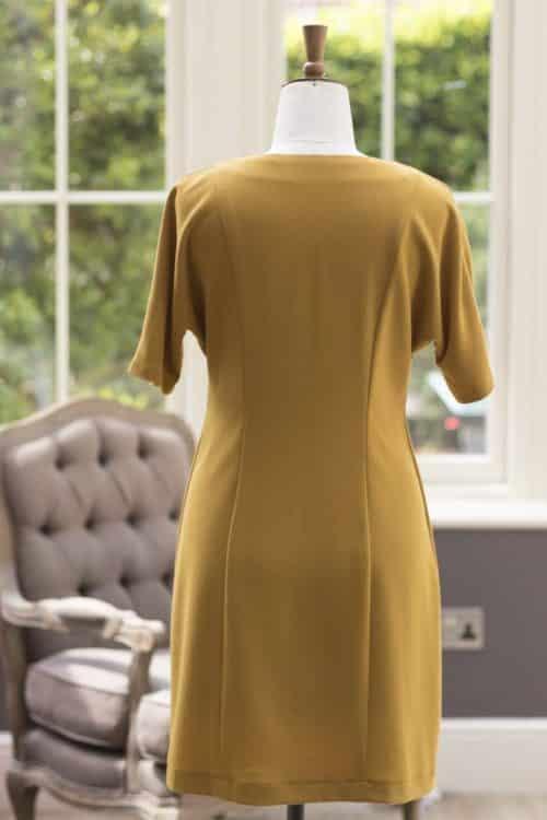 NEW Rio Crepe Fabric Dress Fabric - Mustard