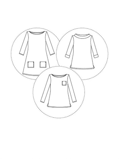 Tilly and the Buttons - Coco Dress and Top Sewing Pattern