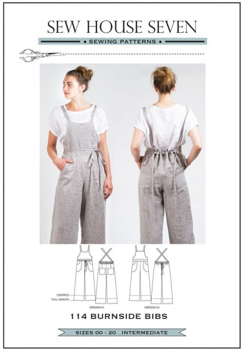 Burnside Bibs - Sew House Seven Sewing Pattern