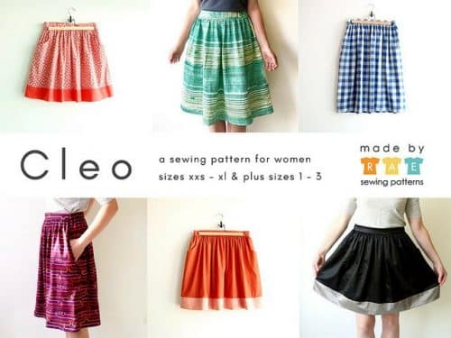 Made By Rae - Cleo Skirt Sewing Pattern