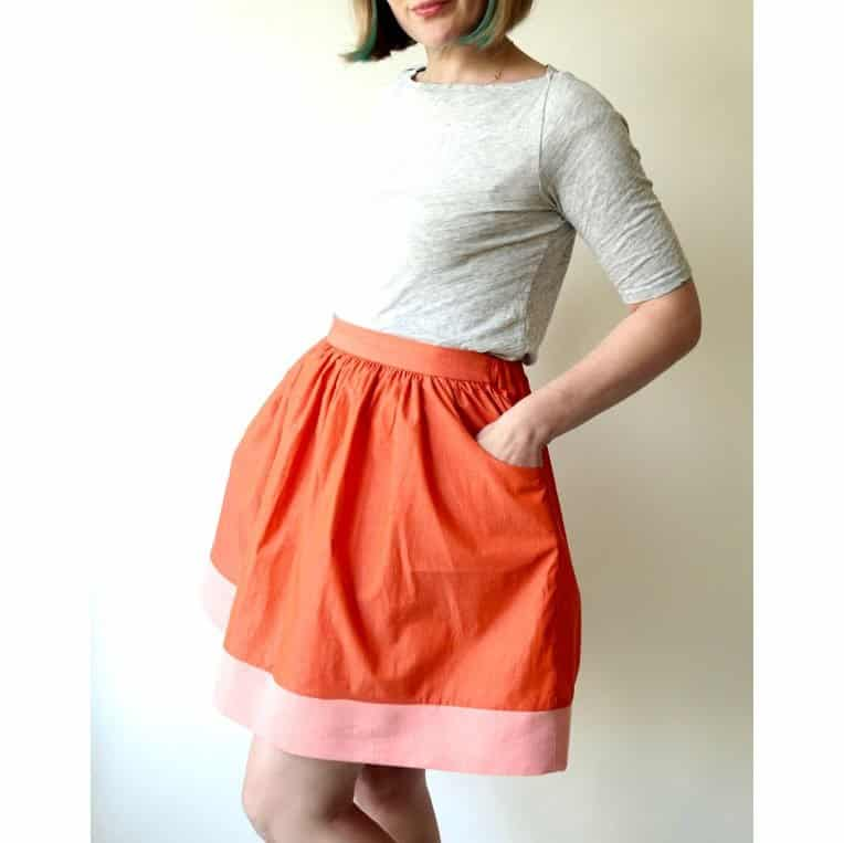 Made By Rae - Cleo Skirt Sewing Pattern | Dressmaking Patterns