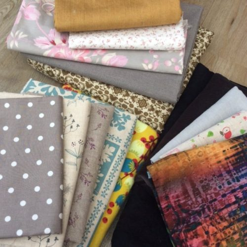fabric bundle end of roll 1.5kg