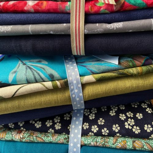 mixed 1kg fabric bundles