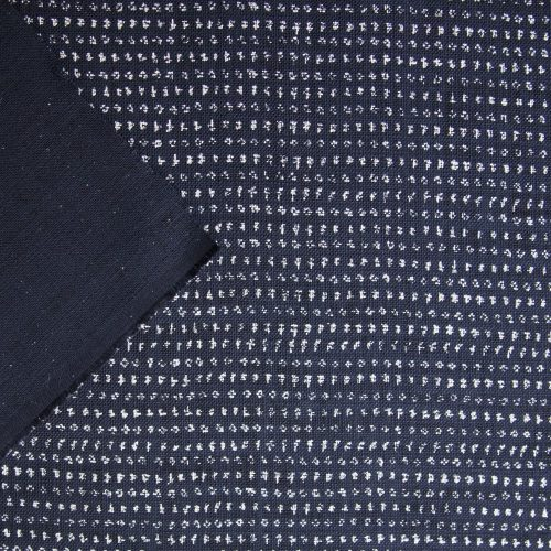 japanese indigo cotton splodges