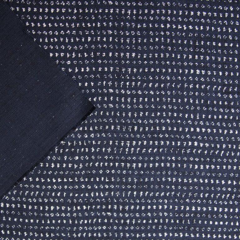japanese indigo cotton splodges