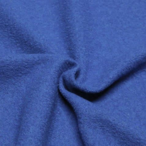 boiled wool cornflower blue