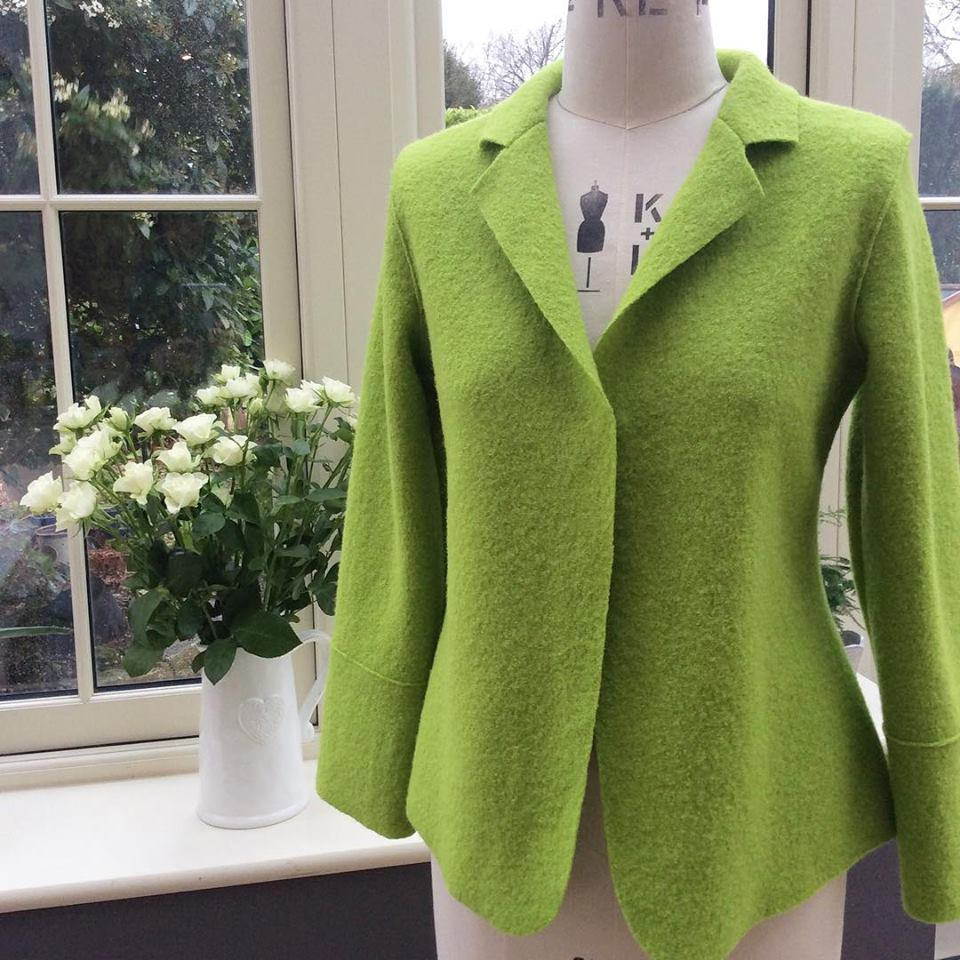 Boiled Wool Jacket