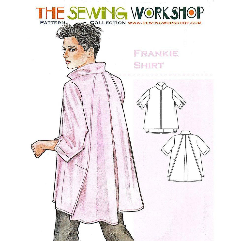 Sewing Workshop Frankie Shirt Sewing Pattern