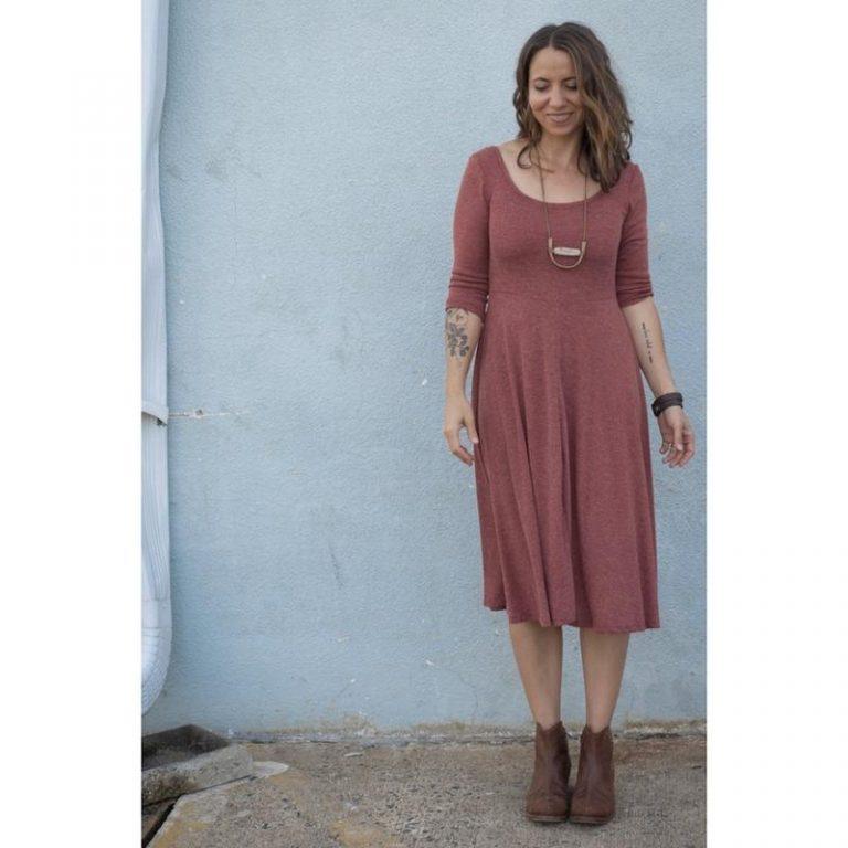 stasia dress sew liberated