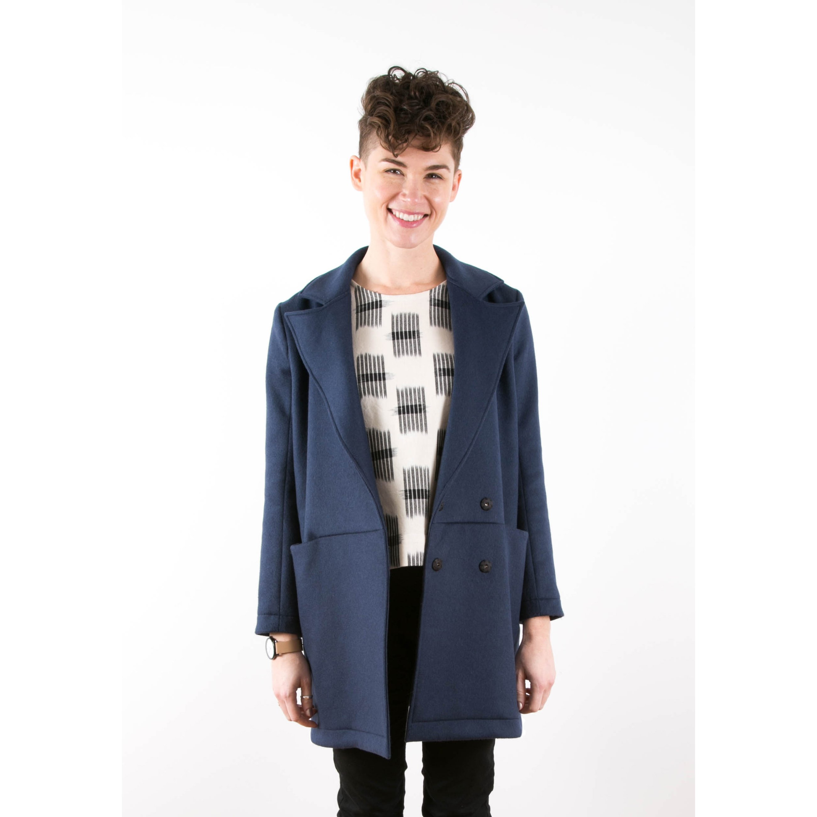 Grainline Studio - Yates Coat Sewing Pattern | Dress Patterns Online