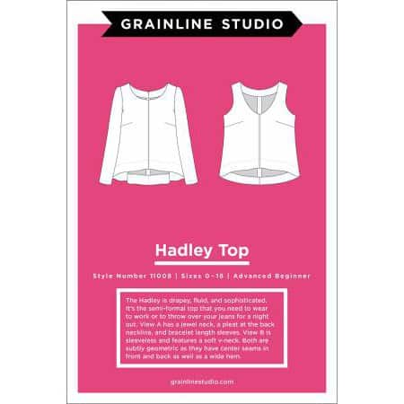Grainline Studio - Hadley Top Sewing Pattern