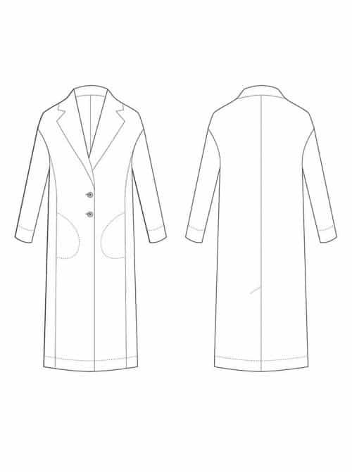 The Avid Seamstress- The Coat