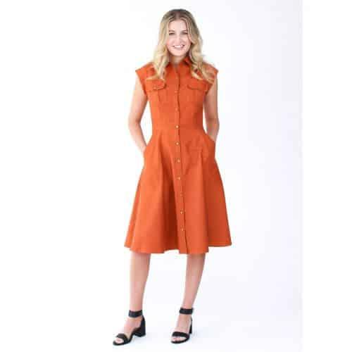 Megan Nielsen Matilda Dress