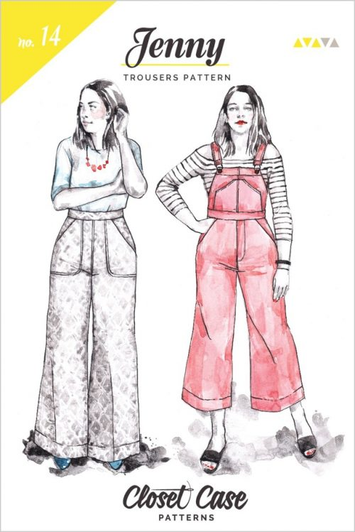 Closet Case Files - Jenny Trousers and Overall Sewing Pattern