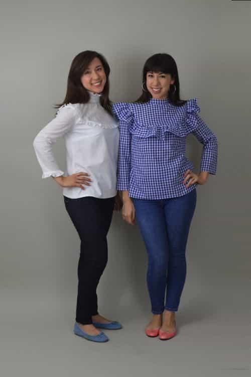 Nina Lee Bloomsbury Blouse Sewing Pattern
