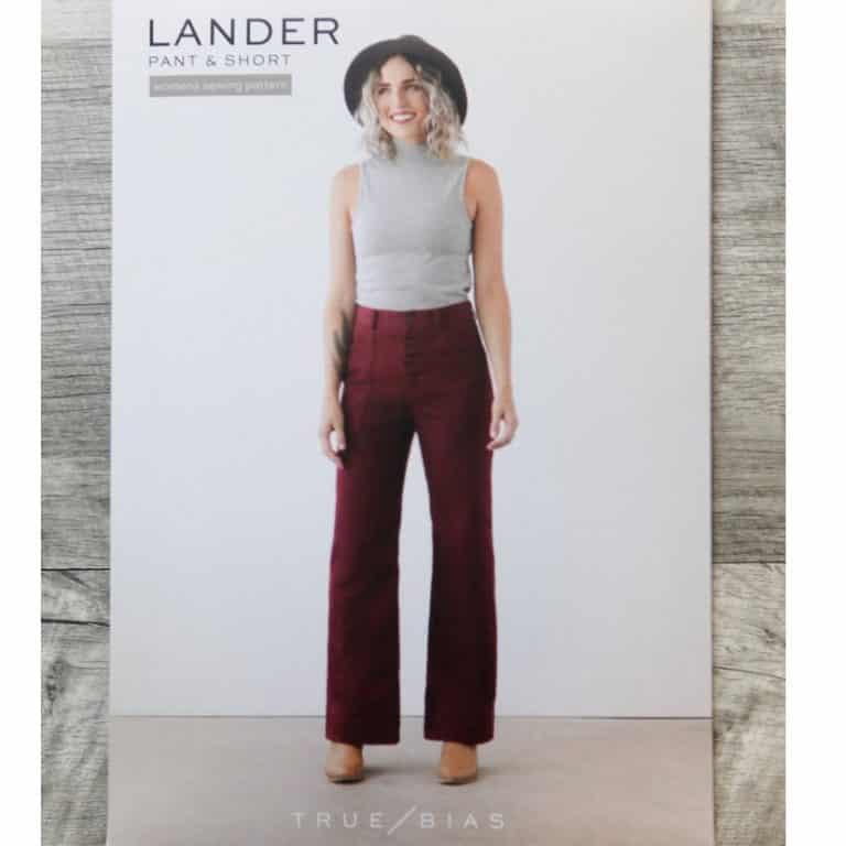 Lander Pant True Bias Sewing Patterns