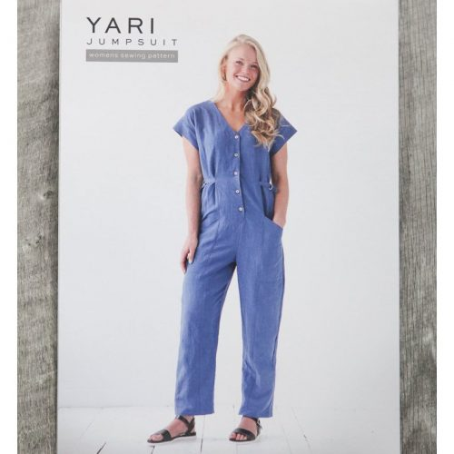 Yari Jumpsuit- True Bias Sewing Patterns