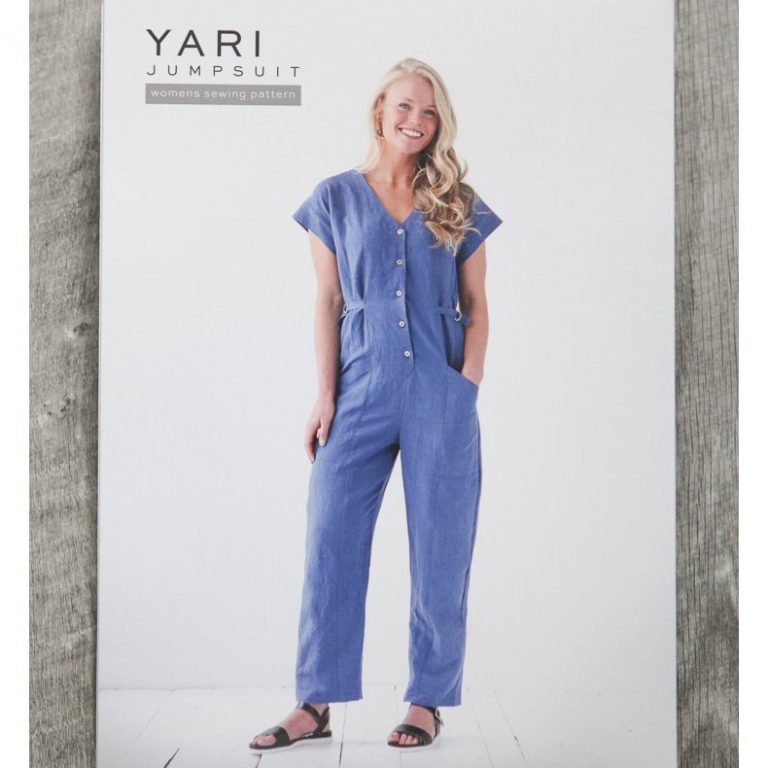 Yari Jumpsuit- True Bias Sewing Patterns