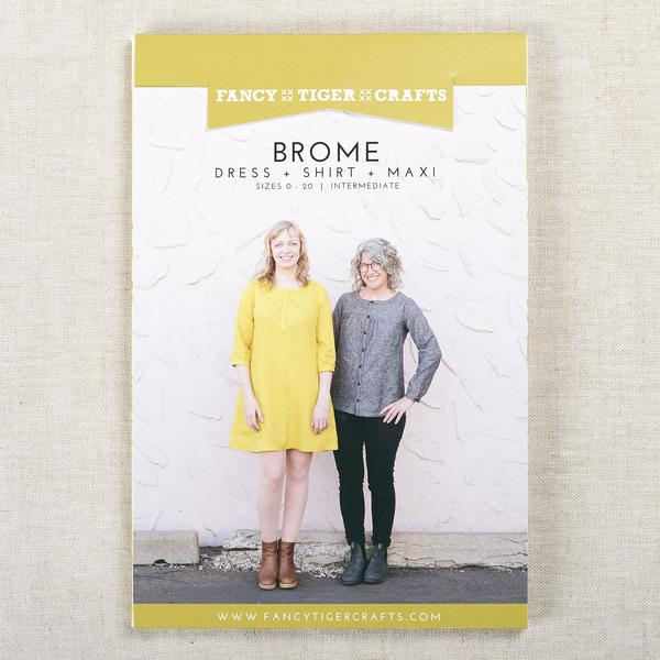 Fancy Tiger Crafts Sewing Patterns Brome Dress And Top Dress Patterns