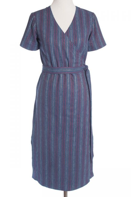 Allie Olson- Highlands Wrap Dress