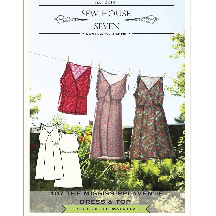 mississippi dress sew house seven