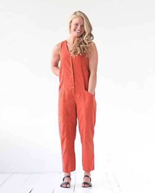 Yari Jumpsuit - True Bias Sewing Patterns