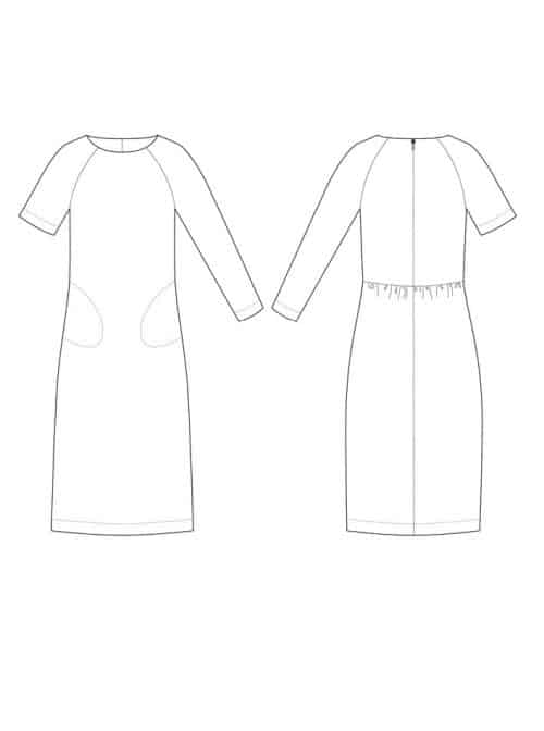 The Avid Seamstress - The Gathered Dress Sewing Pattern