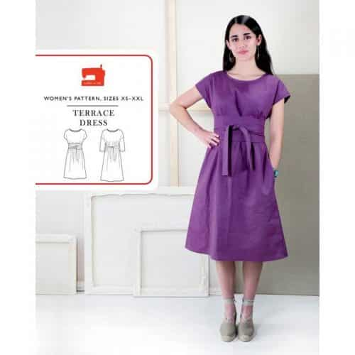 terrace dress pattern