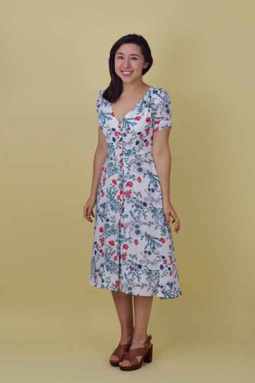 Nina Lee Kew Dress Pattern
