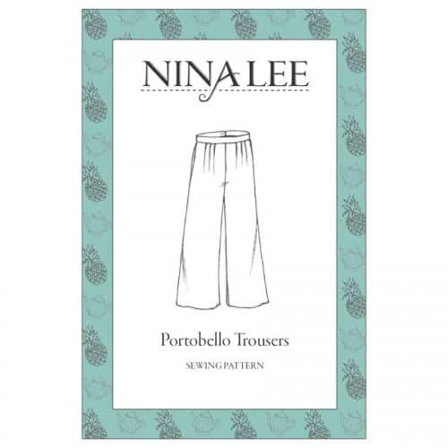 Nina Lee Portobello Trousers Pattern