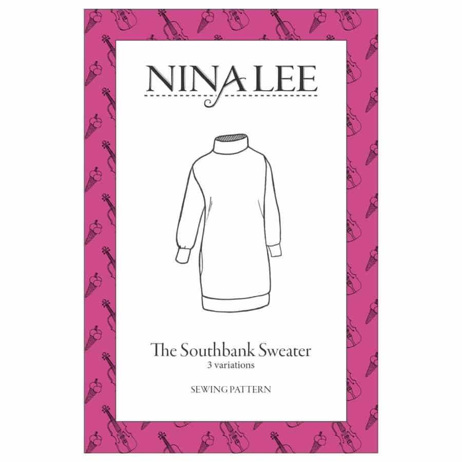 Nina Lee Southbank Sweater & Sweater Dress Sewing Pattern ...