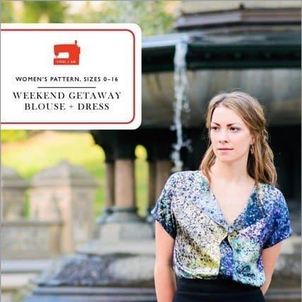 Liesl & Co Weekend Getaway Blouse & Dress Pattern