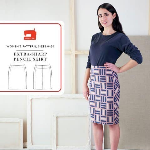 Liesl & Co Extra Sharp Pencil Skirt