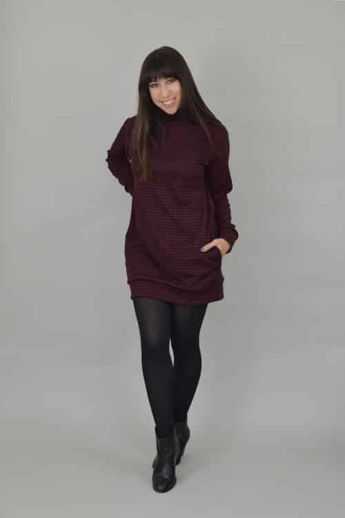 Nina Lee Southbank Sweater & Sweater Dress Sewing Pattern