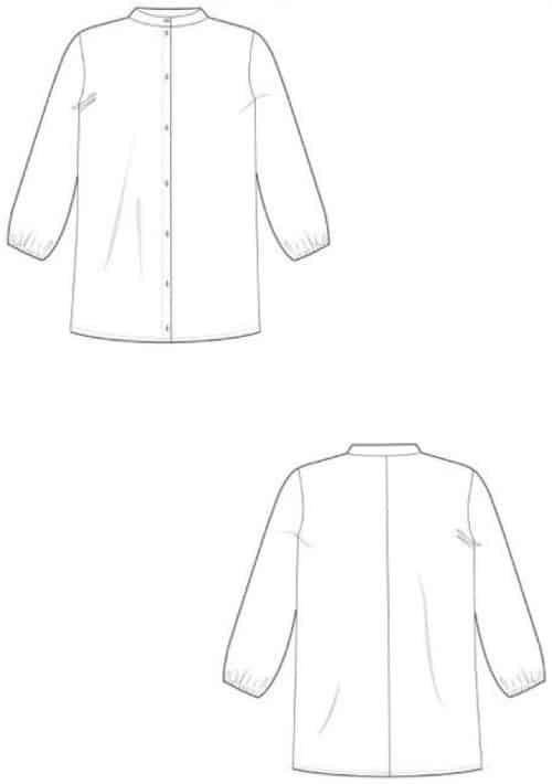 The Avid Seamstress - The Blouse Sewing Pattern