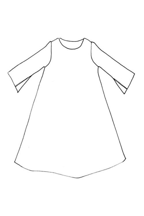 Merchant & Mills - The Trapeze Dress Sewing Pattern