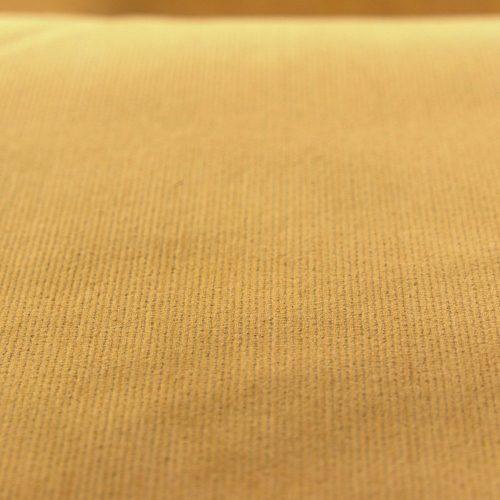 Stretch Finecord Dress Fabric - Ochre