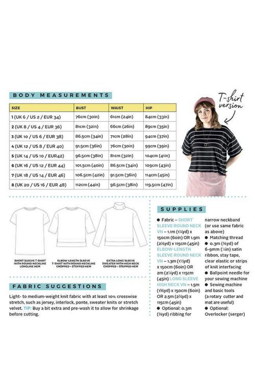 Tilly and the Buttons - Nora Top Sewing Pattern