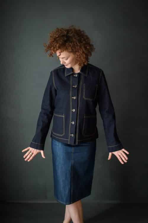 Merchant & Mills - The Ottoline Jacket Sewing Pattern