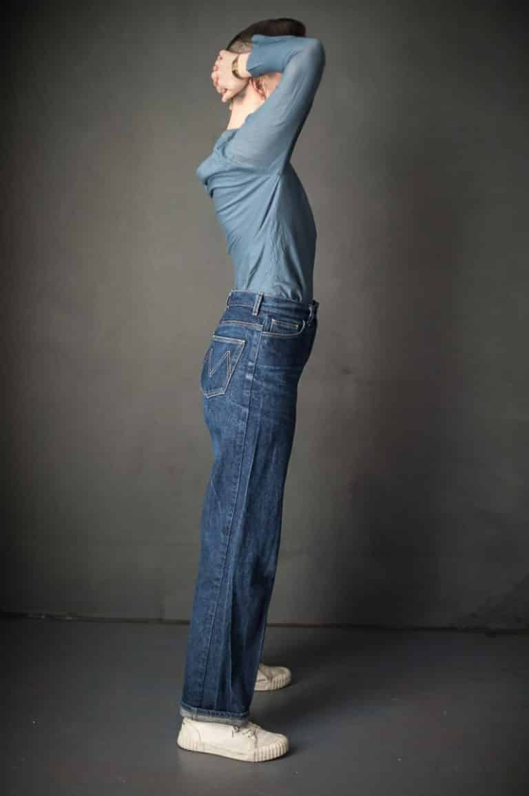 heroine jeans sewing pattern merchant and mills