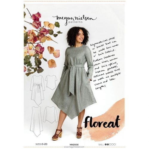 Floreat Dress Top Megan Nielsen