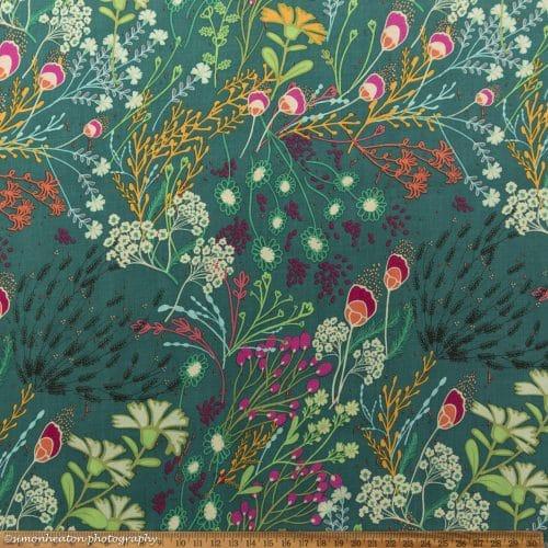 Art Gallery Rayon - Meadow Bold Rayon Dress Fabric