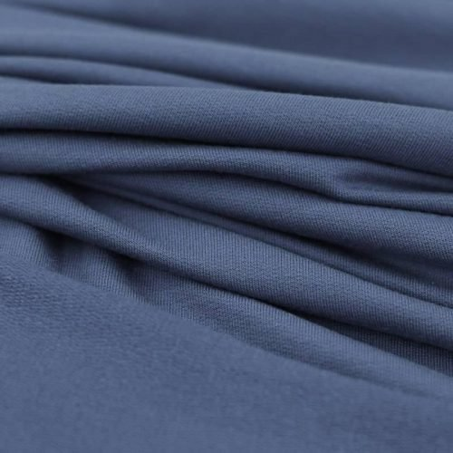 modal french terry dusky blue